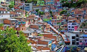Comuna 13 in 2015